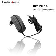 Power supply 12v 1a Class II single output constant voltage AC DC 12v 1a plug adapter for cctv camera