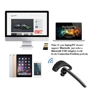 Image 5 - K10 Bluetooth Kopfhörer Drahtlose Kopfhörer Business ohrhörer Freisprecheinrichtung Fahren Headset mit Mic für iPhone samsung huawei xiaomi