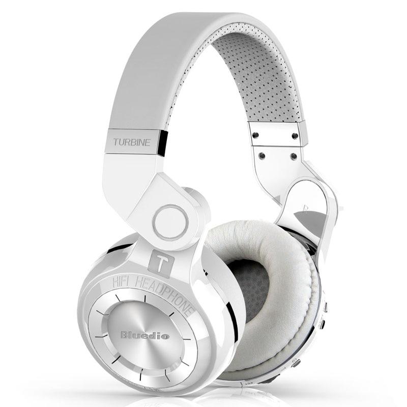 Bluedio original T2 Bluetooth inalámbrico plegable auriculares micrófono incorporado 3D sonido auriculares para teléfono móvil xiaomi Samsung