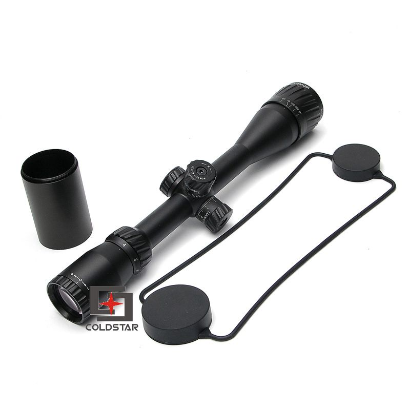 Tactical Air Soft Hunting Shooting Sniper Scopes 4-14X40 AOIR RifleScope Sights For Rifles Fiber Optic Sights for Rifle Weapons kandar 6 18x56q front tactical riflescope big objective with glass plate riflescope military equipment for hunting scopes