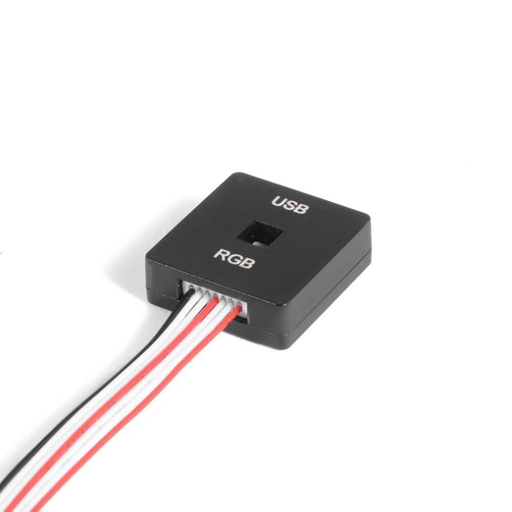 Pixhawk PX4 RGB الخارجي ل LED و USB التمديد وحدة التقى Beschermhoes Volledige Kleur I2C LED وحدة