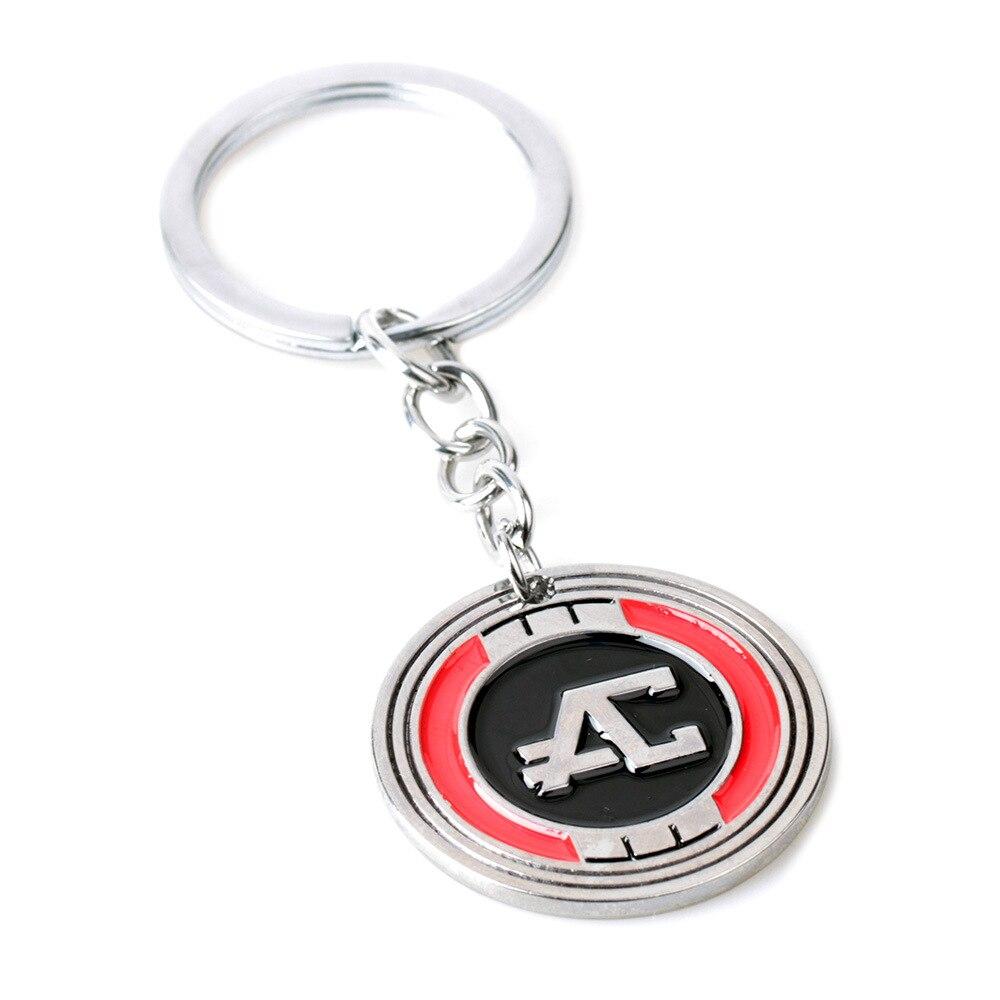 Apex Legends Commemorative Coin Keychains Pendant Necklace Personalized Fashion Llaveros Accessories Breloczek Do Kluczy Gifts
