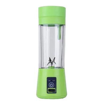 Kitchen fruit plastic cylinder water bottle portable blender usb juicer