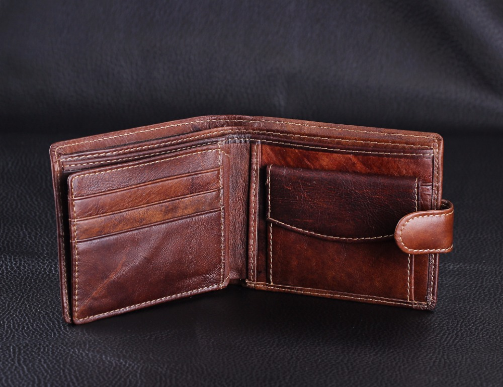 retro crazy horse brown café Main Material : Leather