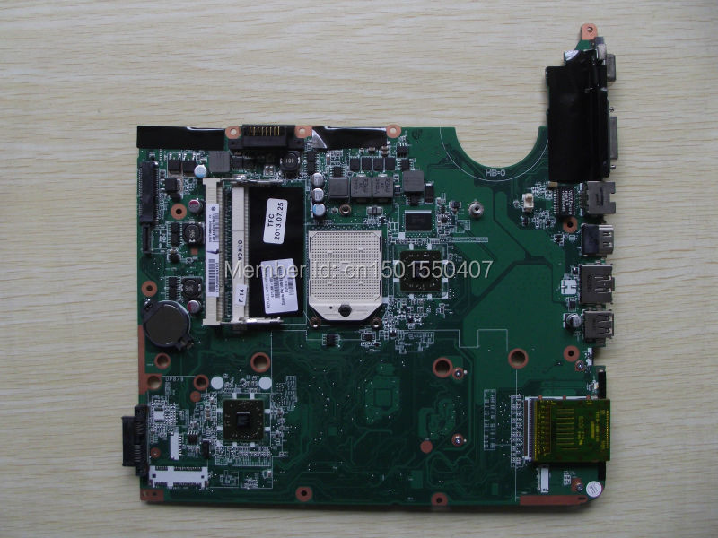 ФОТО Free Shipping 571186-001 for HP Pavilion DV6 DV6-1000 DV6-2000 motherboard .All functions 100% fully Tested !