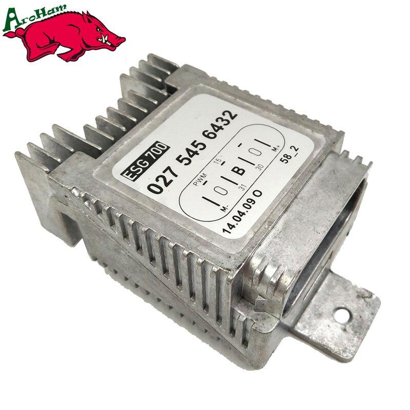 Aroham nouveau Module de commande de ventilateur de refroidissement pour mercedes-benz W220 S500 S430 CL500 OEM 0275456432 A0275456432 A 027 545 64 32
