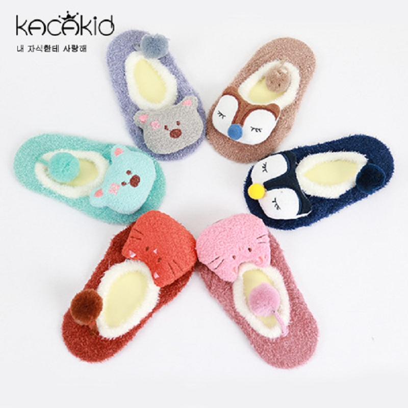 Kacakid baby boy girls cartoon socks kids cute anti slip Sock boys girls socks toddlers  ...