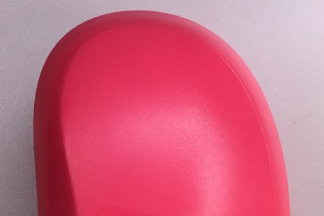 Профессиональная расческа модный простой гребень черного цвета 10 шт./лот цвет черного/розового/синего и фиолетового цвета для волос расческа - Цвет: Розовый