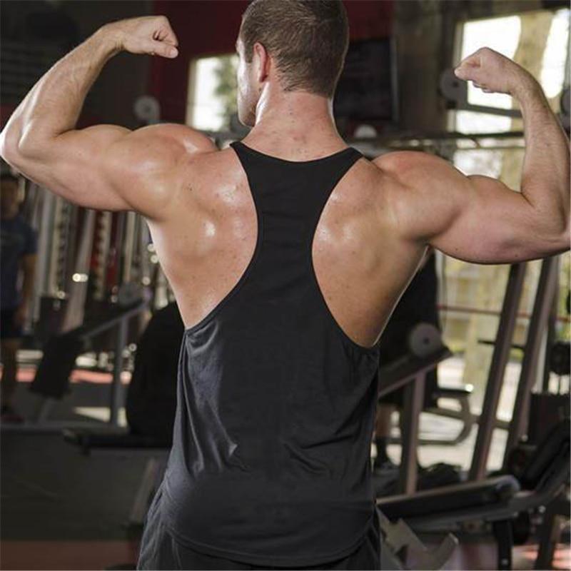 Bodybuilding stringer tank top Superman Gyms sleeveless shirt men Fitness Vest Singlet sportswear workout tank top 2