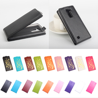 9 Color High Quality New Original For LG K8 Leather Case Flip Cover For LG K8