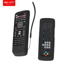 Afstandsbediening Case voor VIZIO XRT302 QWERTY Toetsenbord Smart TV Afstandsbediening SIKAI Huidvriendelijke Shockproof Silicone Cover Anti  verloren