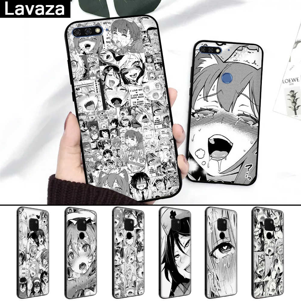 Lavaza Anime girl cartoon japan faces Silicone Case for Huawei Mate 10 Pro 20 Lite Nova 2i 3 3i Y6 Y5 Y9 2019 Y7 2017 Prime 2018