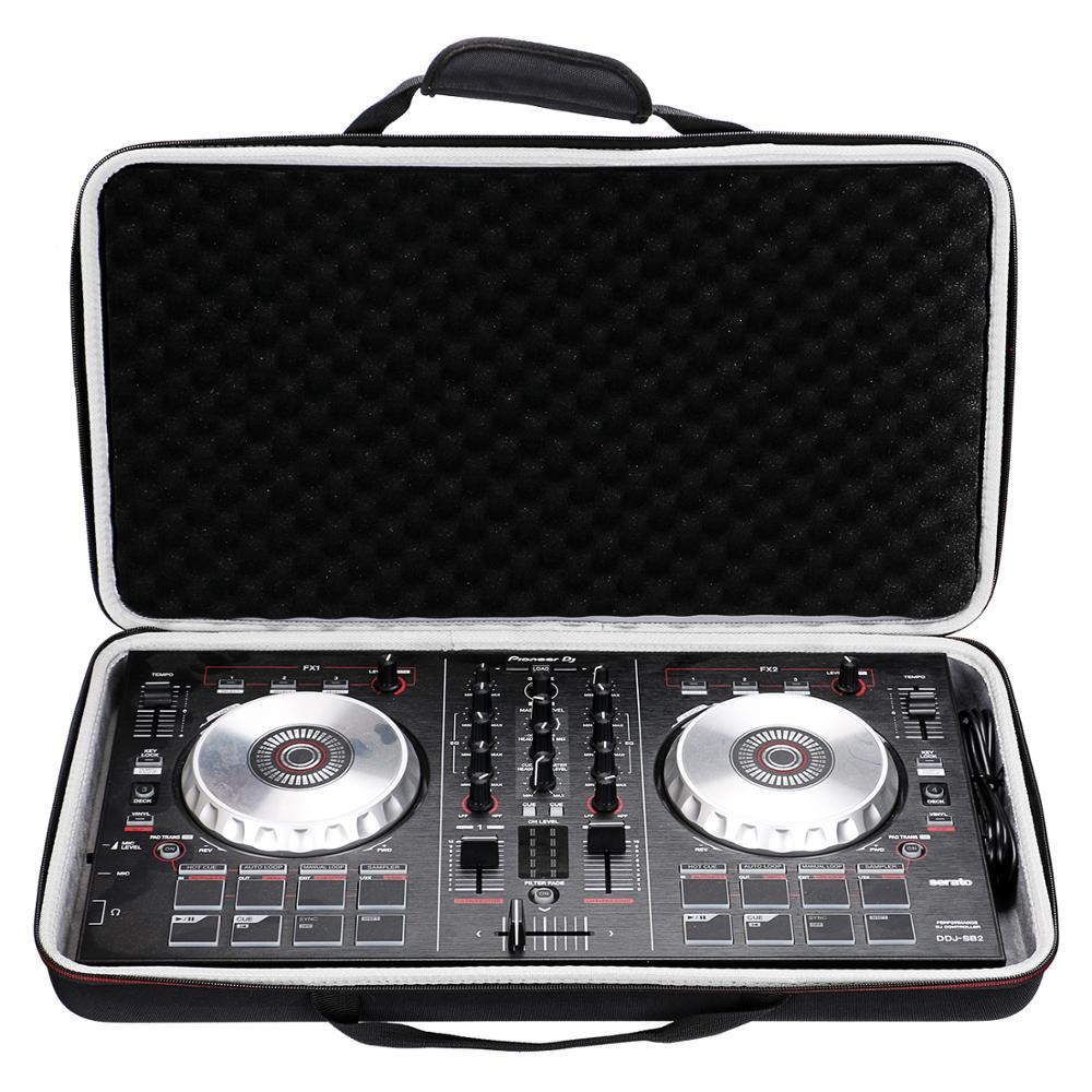 LTGEM Fall für Pioneer DJ DDJ SB3/DDJ SB2/DDJ 400 oder Tragbare 2 kanal Controller oder DDJ-RB leistung DJ Controller Fall