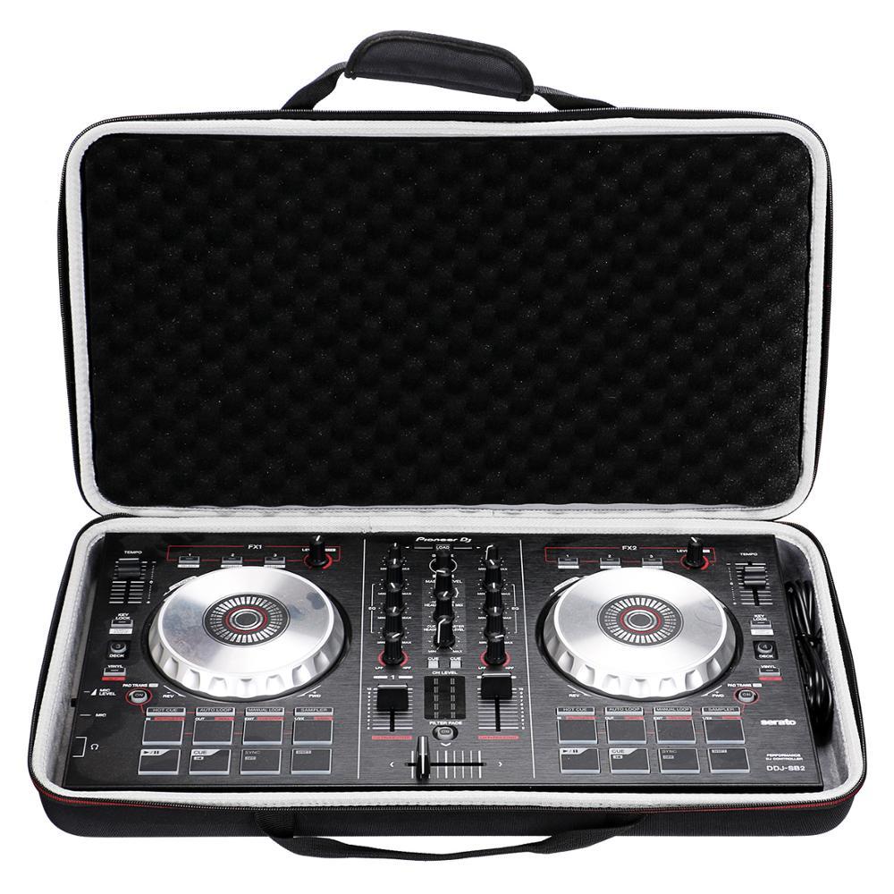 LTGEM Para Pioneer DJ DDJ SB3/DDJ SB2/DDJ 400 O Portátil 2 Canal Controlador O DDJ-RB Rendimiento Carcasa De Controlador DJ