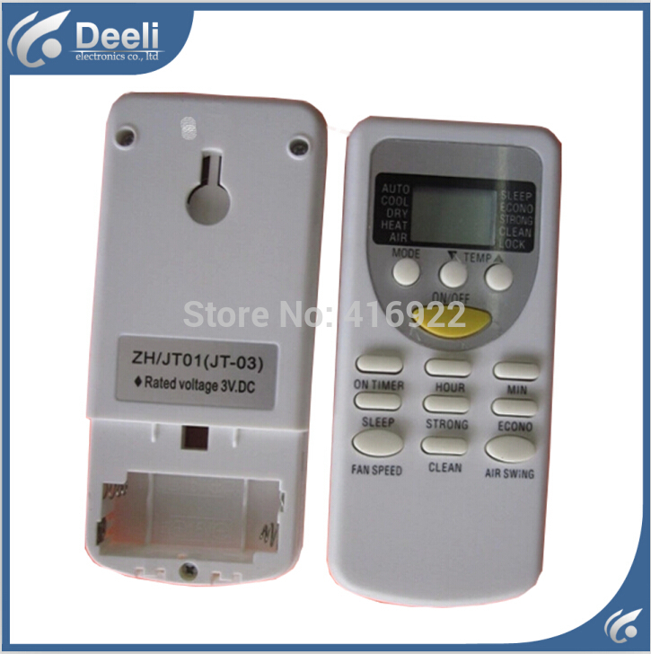 2pcs/lot for Split And Portable Air Conditioner Remote Control ZH /JT-01 ZH /JT-03 Air Conditioning Parts 24v dc air conditioning system portable air conditioner for boats trucks