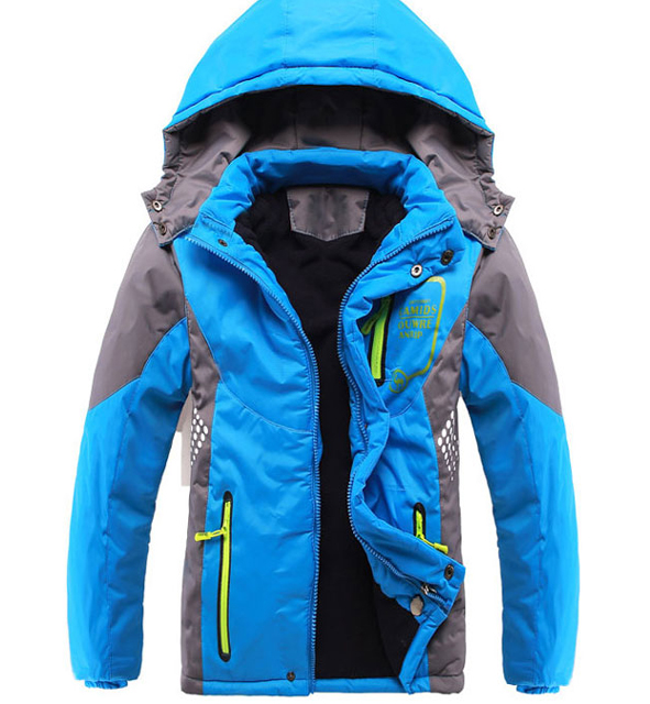 Children Outerwear Warm Coat Sporty Kids Clothes Double deck Waterproof Windproof Thicken Boys Girls Jackets Autumn