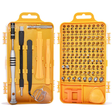 цена на wholesale Screwdriver Set Multi-function Computer PC Mobile Phone Digital Electronic Device Repair Hand Home Tools Bit