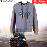 KODASKIN Hoodies Motorcycle Hoody Jacket Hooded Coat Sweatshirts Men Fashion for BMW C400X
