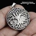 1 pcs colar da árvore do mundo Viking Do Autismo Norge Árvore Da Vida Pingente-Dragon Soul Jóias jóias Personalizadas, presente de aniversário
