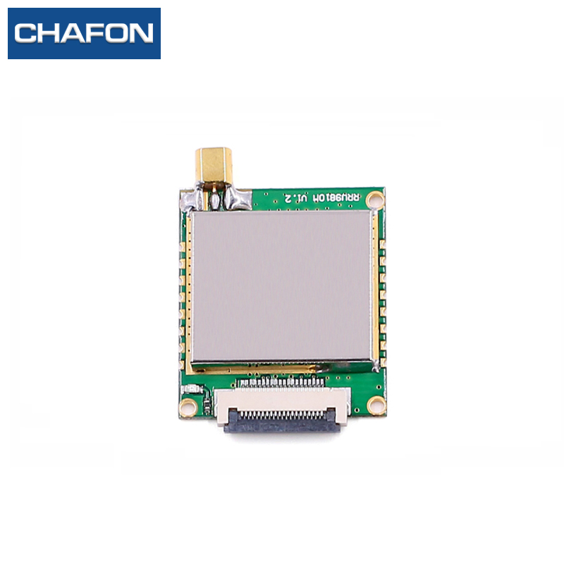 CHAFON 8M long range uhf rfid reader module 865-868Mhz 902-928mhz with one antenna port used for timing system 865 868mhz or 902 928mhz customized abs material waterproof linear circular polarization high gain 12dbi rfid uhf antenna