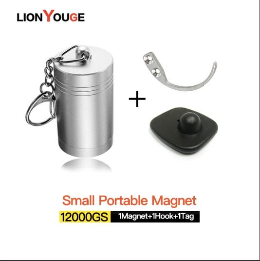 Nova chegada! Destacador magnético forte da bala, força interna portátil fácil 12000gs etiqueta dura openner eas destacador