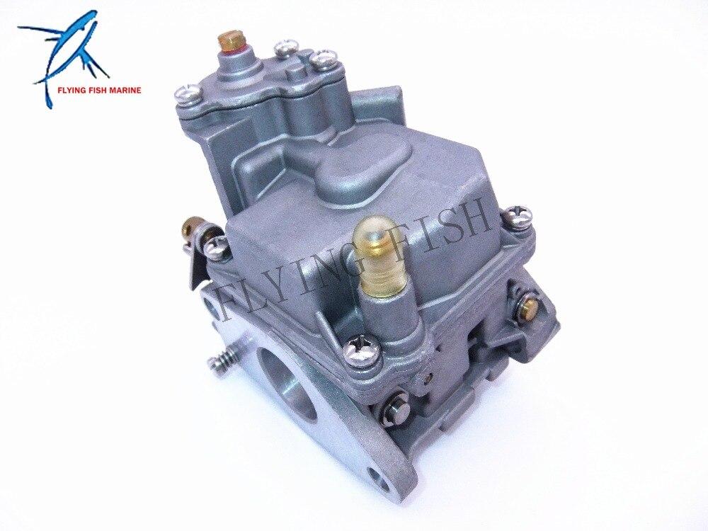 Outboard Motors Carburetor Assy 66M-14301-11 66M-14301-00 for Yamaha 4-stroke 15hp F15