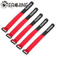 5 PCS Eachine Battery Tie Down Strap Non-slip Hook Loop Strap with Buckle 22.3cm Fixing Eachine Helicopter Battery(China)