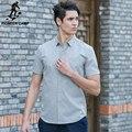 Pioneer camp 2017 moda 100% chemise homme camisa masculina delgada de algodón de manga corta de colores dot impreso camisa de los hombres 666206