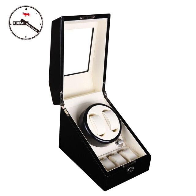 Wp23 5 режимов Автоматическая обмотка деревянные часы Winder
