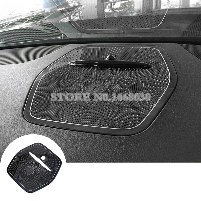 Inner Center Console Speaker Trim Cover For Benz GLE W166 Coupe C292 2015 2018