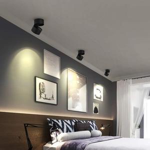 Image 5 - 2 pcs/lot Dimmable monté en Surface LED COB Downlight 7W 10W LED lampe AC90 260V plafonnier avec LED pilote éclairage à la maison