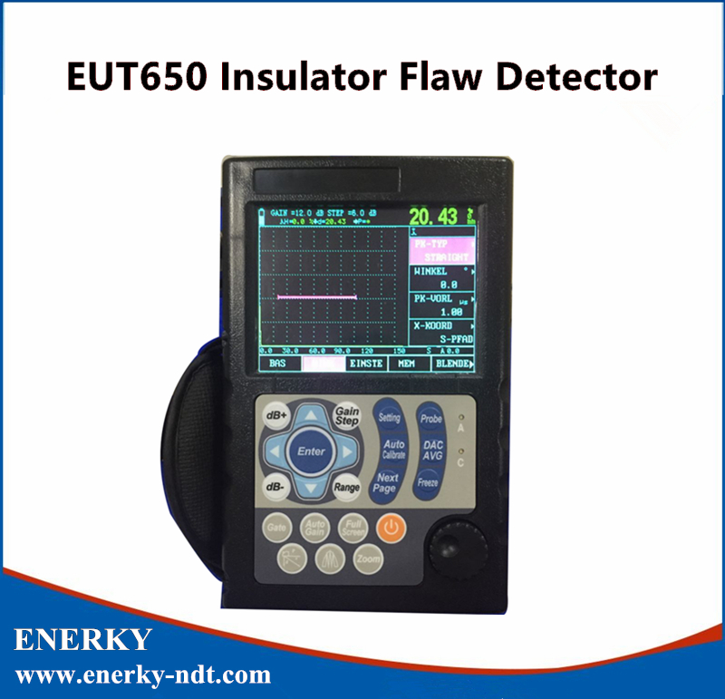 EUT650 Insulator Flaw Detector electrical insulator arc ring