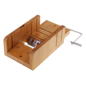 Image 3 - Wood Soap Cutter Loaf Mould Mold with Beveler Planer and Wire Slicer Cutters Soap Making Cutting Tools for Handmade Craft