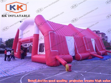 Long Huge arch type inflatable tents for commercial rental