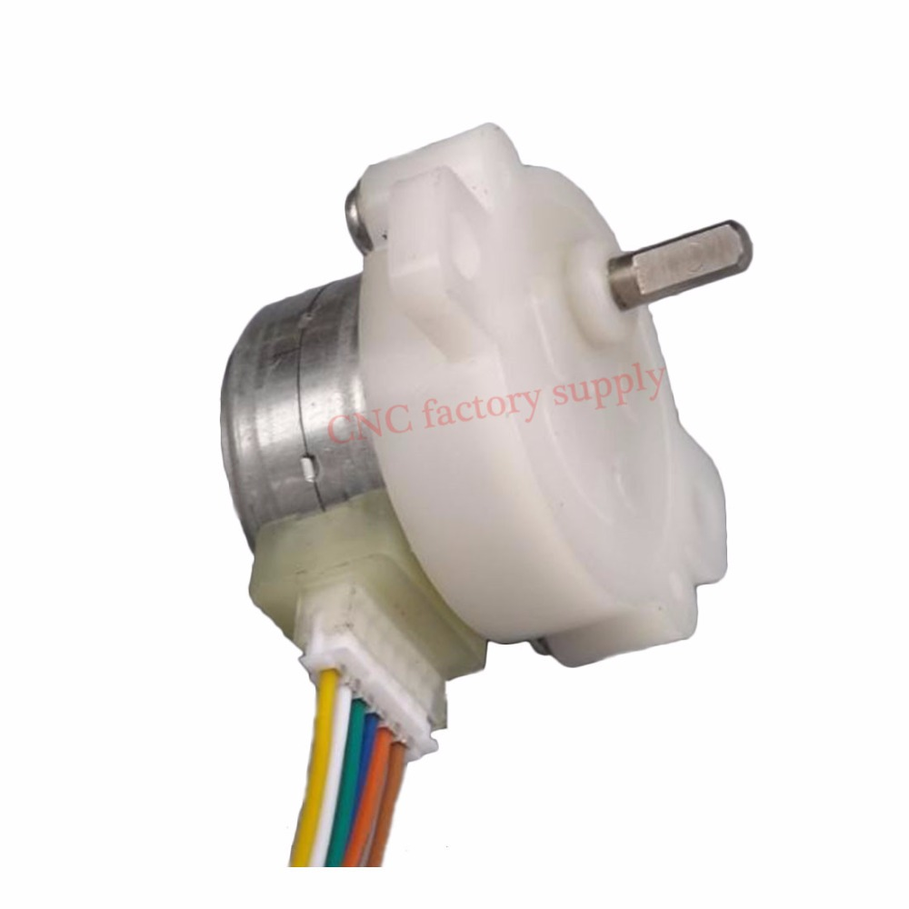 1pc DIY parts Deceleration stepper motor 12V metal gear reducer gear ratio 36:1 42 deceleration motor miniature motor 42bygp60 stepper motor 12v 1 7a gear deceleration motor