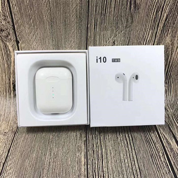 DDO I10 TWS Double Mini Airpod Wireless Bluetooth Earphone Earbuds With Charging Box Mic For Iphone7,8,X Samsung Android Xiaomi box
