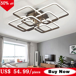 HTB1r.9RNH2pK1RjSZFsq6yNlXXaQ Modern LED Ceiling Light Black&White Chandeliers Ceiling Lamp LED Light Fixtures Living room Bedroom Dining room Kitchen Lustres