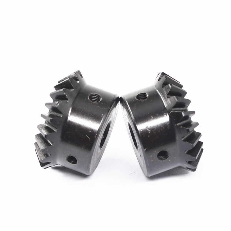 1 шт. 2mod20/25/30 зубы Коническая передача 90 градусов Коническая передача углеродистая сталь твердой поверхности зуба 1: 1 Коническая передача ЧПУ