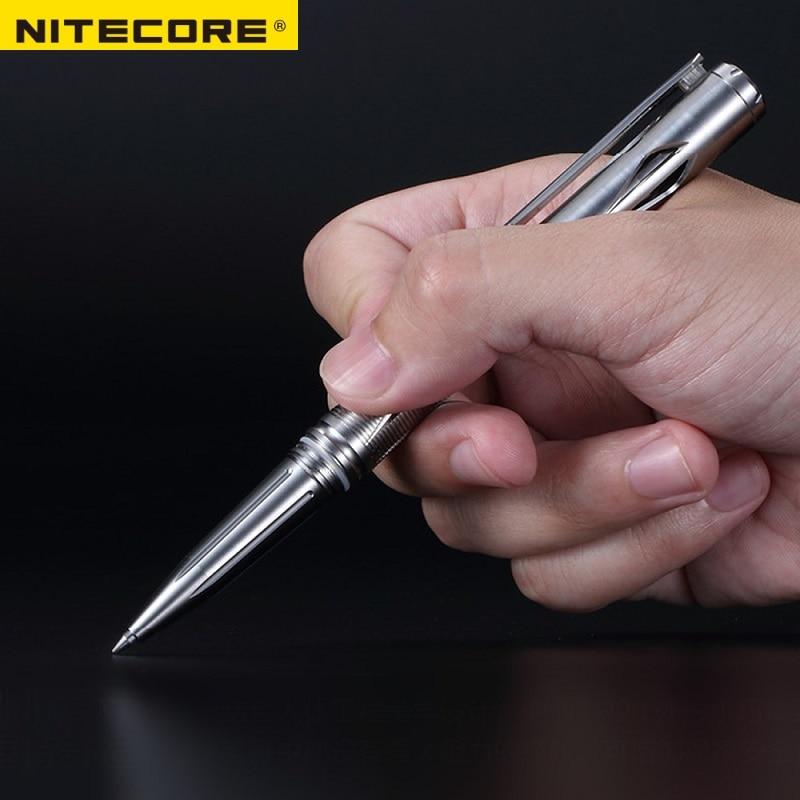 NITECORE NTP20 самооборона многофункциональная тактическая ручка из титанового сплава