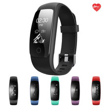 ID107 Upgrade edition Smart Sport Bracelet Fitness Activity Tracker Heart Rate Monitor GPS Tracker Smart Band Watch Wristband(China)