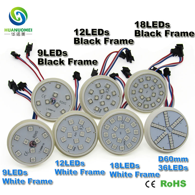 60mm ucs1903 5050 smd addressable led module rgb led pixel christmas lights led sign programmable lightbox