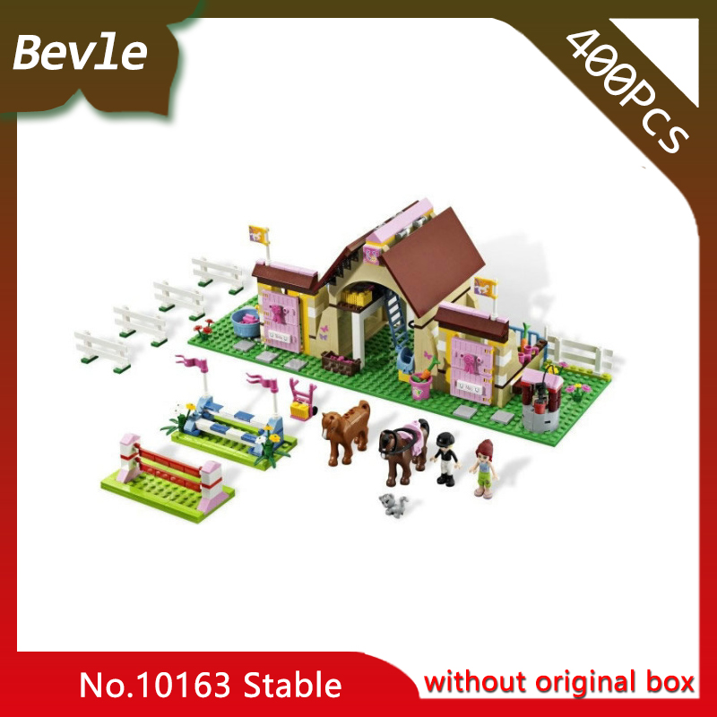 Bevle Store Bela 10163 400Pcs Friends Series Heart Lake City Experience stables Model Building Blocks Toys compatible jon marks ielts advantage speaking