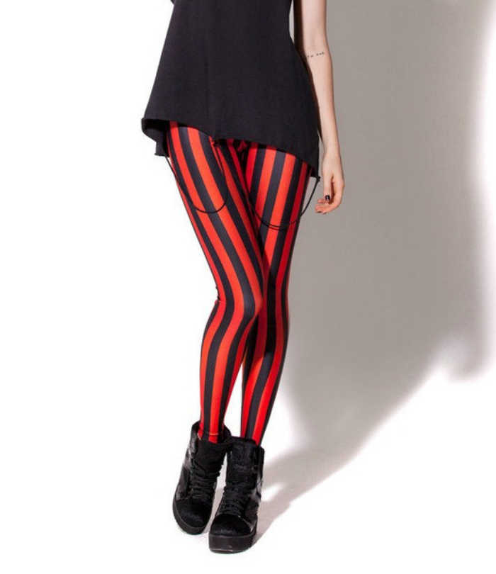 dc6870cc6b Detail Feedback Questions about 5 Patterns Vertical Striped Red Workout  Leggings S To 4xL Plus Size Pink White Black Fitness Womens Pants on  Aliexpress.com ...