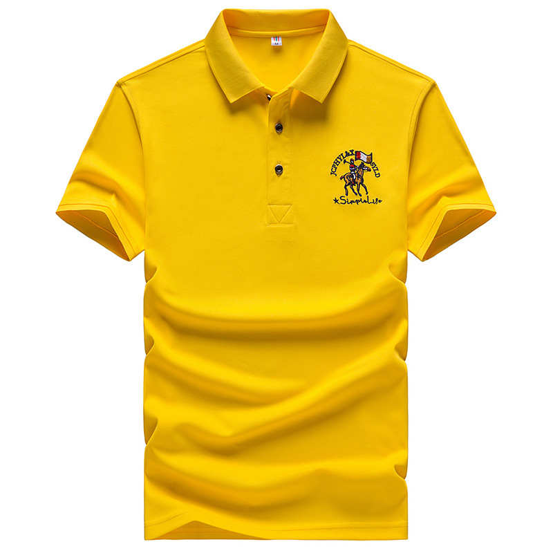 Brand Eden Park Men's   Polo   Shirt Embroidered Golf Solid Color   Polos   Cool Short Sleeve Shirts European Size M-4XL;YA276