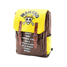 Anime one piece Luffy boy canvas men s backpacks Travel bags Laptop  students school Bags military fashion 5f38bcfbb78ad
