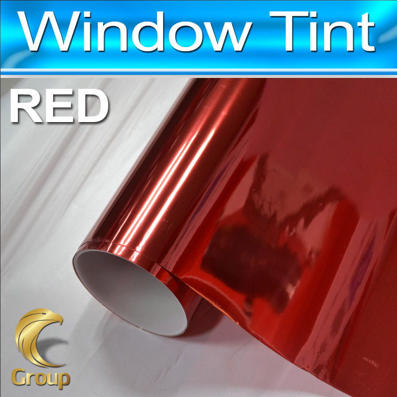 Red Window Tint >> High Quality Car Window Tint Film Privacy Film Color Red Window