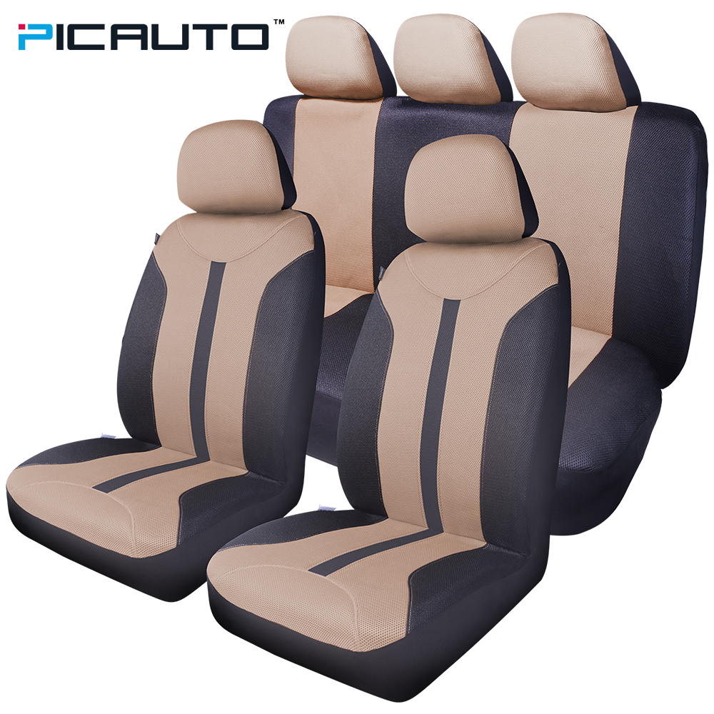 Wondrous Us 56 99 Pic Auto Car Seat Covers 3D Splicing Technology Mesh Fabric Side Airbag Universal Fit Most Auto Cars Interior Accessories Beige In Unemploymentrelief Wooden Chair Designs For Living Room Unemploymentrelieforg