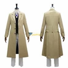 Dazai Osamu Cosplay Bungo Stray Dogs Anime Armed Detective Agency Member Costume