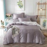 Polka Dot Mandala Barock Floral Bedruckte Bettwäsche Set Königin König Größe Quilt Abdeckung Bett Blätter Kissen Sommer Tencel Textilien