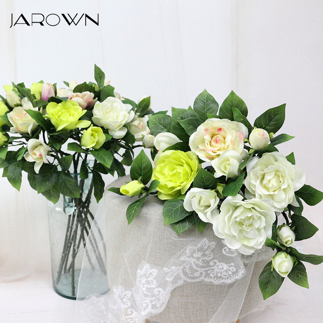 Jarown home flowers decoration gardenia camellia simulation flower jarown home flowers decoration gardenia camellia simulation flower wholesale artificial flowers wedding home decoration home mightylinksfo